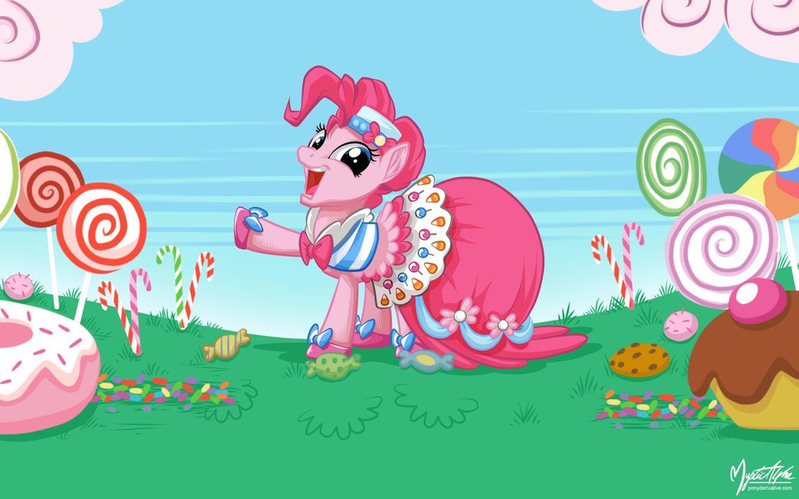 Pinkie Pie in Gala Dress by mysticalpha