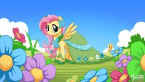 Fluttershy in Gala Dress 16.9