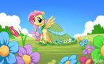 Fluttershy in Gala Dress