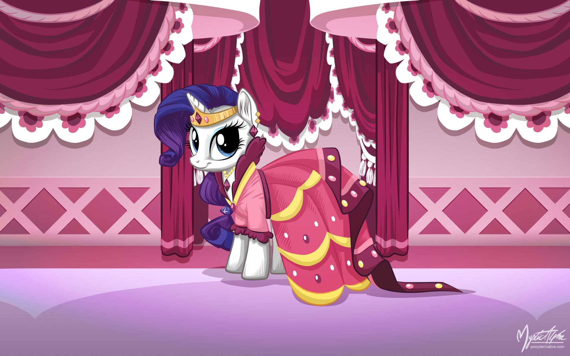 Rarity in Gala Dress by mysticalpha