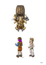 Comic 064 WIP - go robo go! by mysticalpha