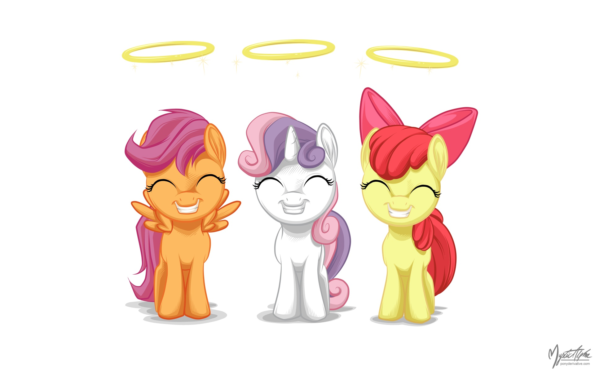 Cutie Mark Crusaders - Little Angels by mysticalpha