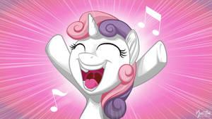 Sweetie Belle Singing 16.9