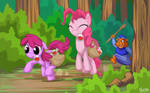 Berry Punch and Pinkie Pie - Gummiberry Juice