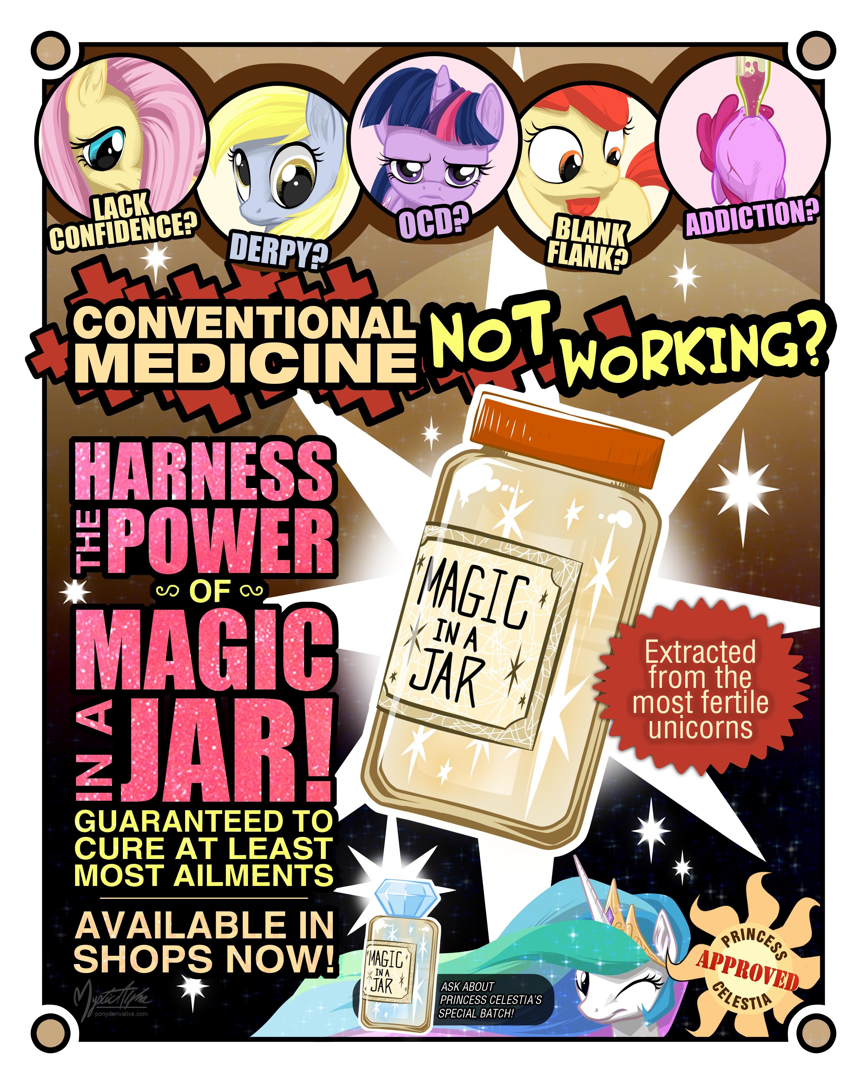 Magic in a Jar by mysticalpha