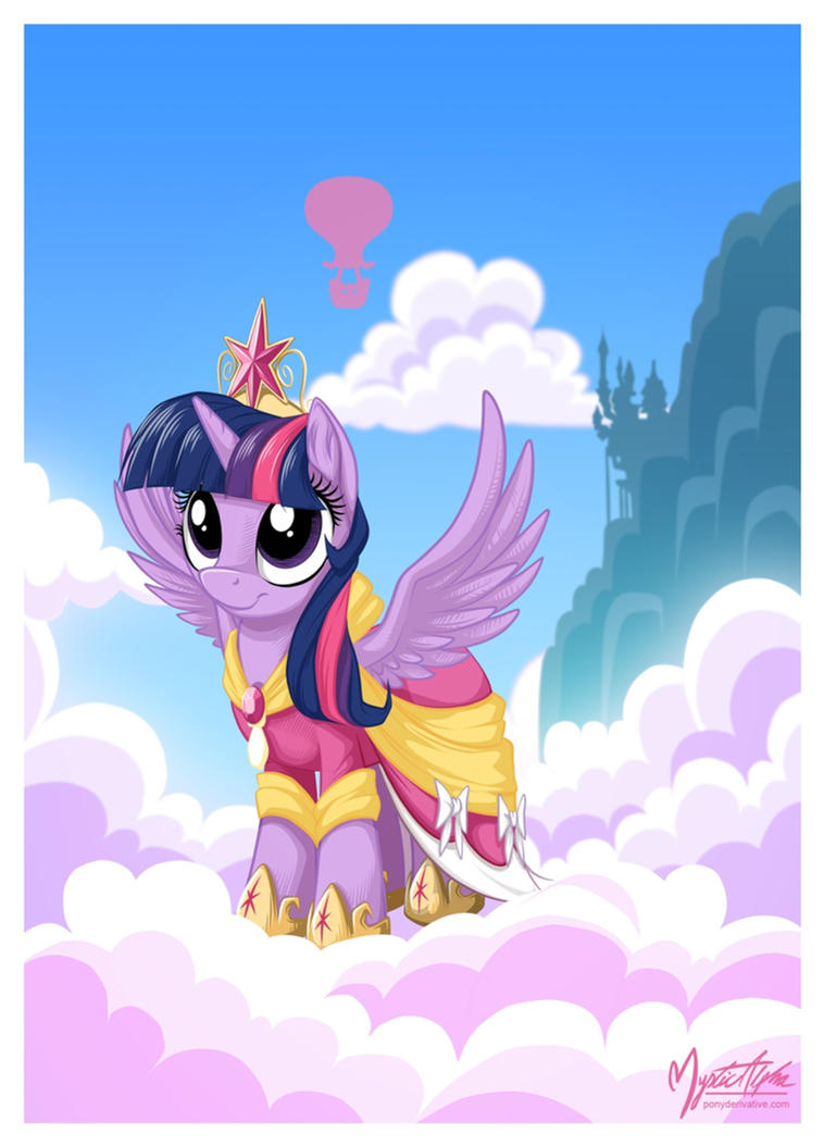 Princess Twilight Sparkle by mysticalpha