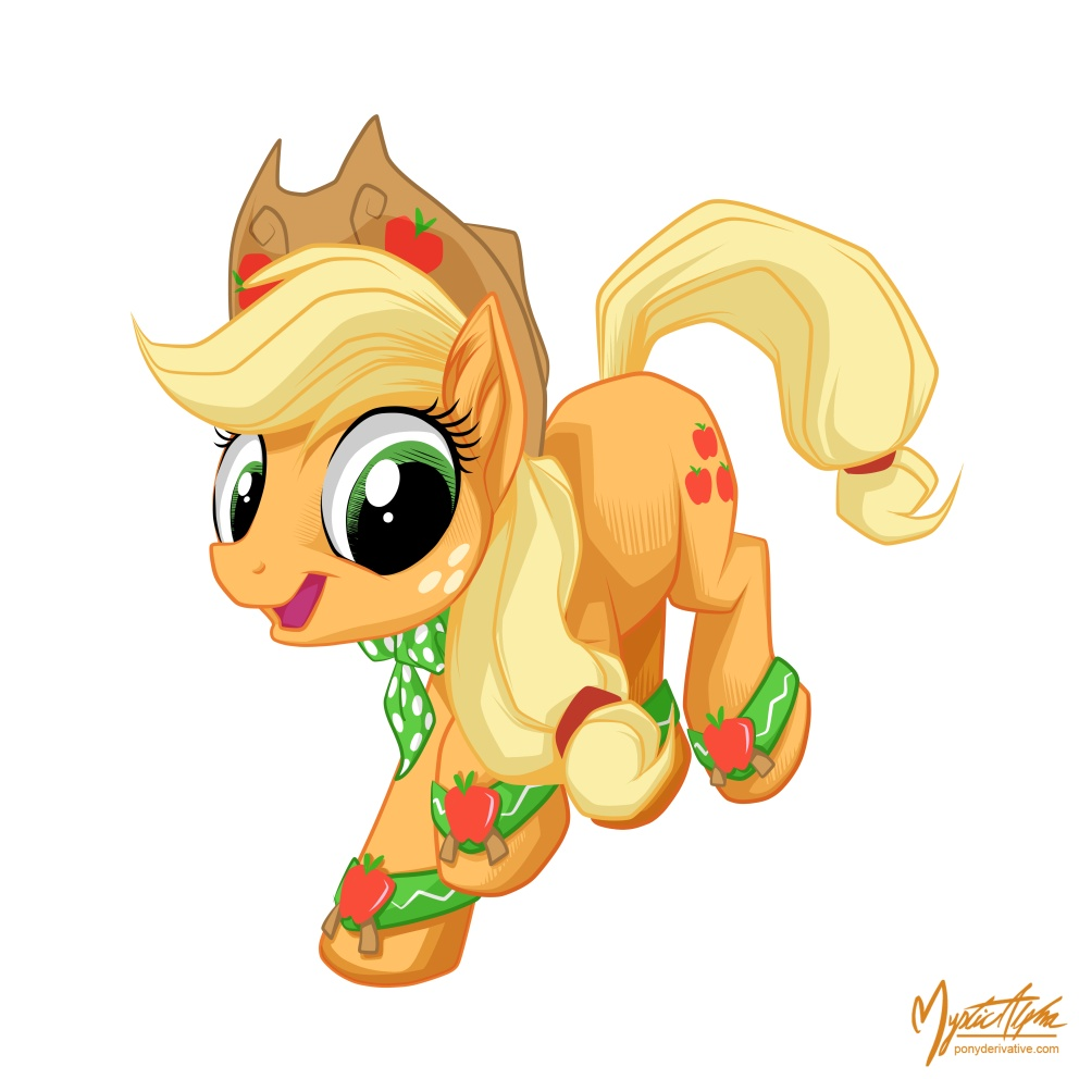 Applejack - Jump Down by mysticalpha
