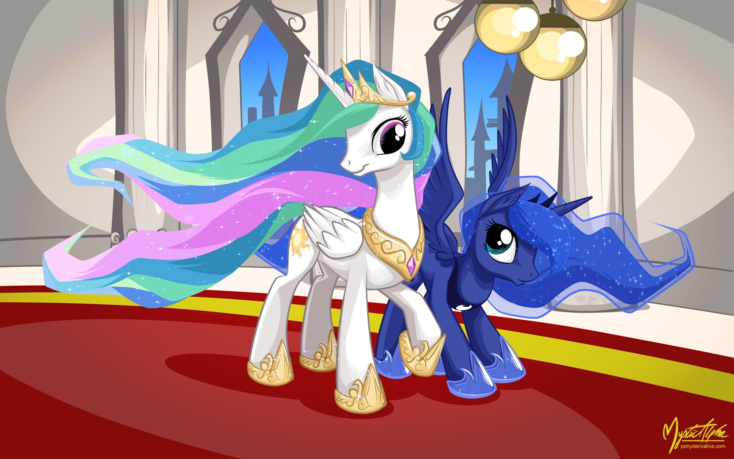 Celestia and Luna