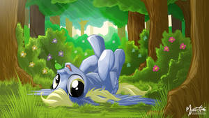 Derpy in Forest 16:9