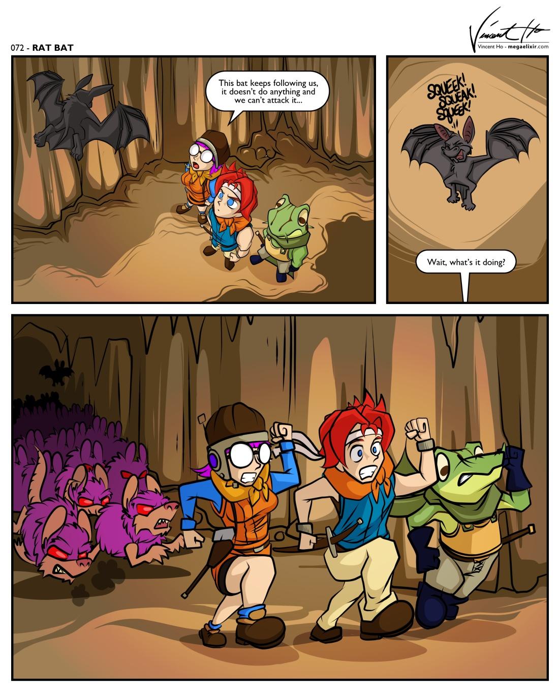 Rat Bat by mysticalpha