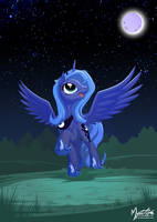Happy Luna by mysticalpha