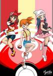 Pokemon Girls 01 by mysticalpha