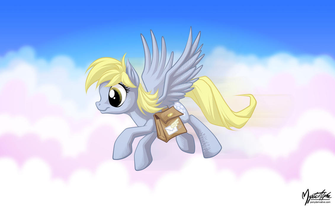 Derpy the Mail Pony by mysticalpha