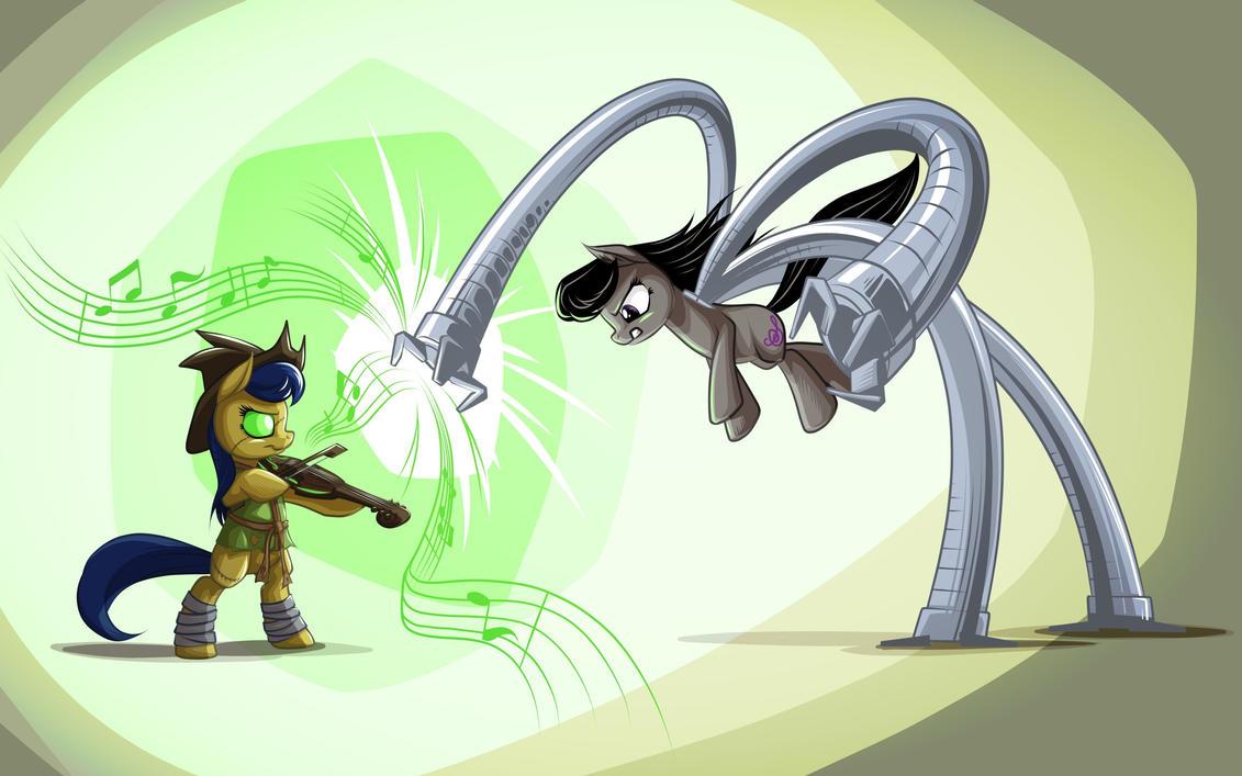 Scaretzo vs. Dr. Octave by mysticalpha