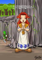 Young Malon by mysticalpha