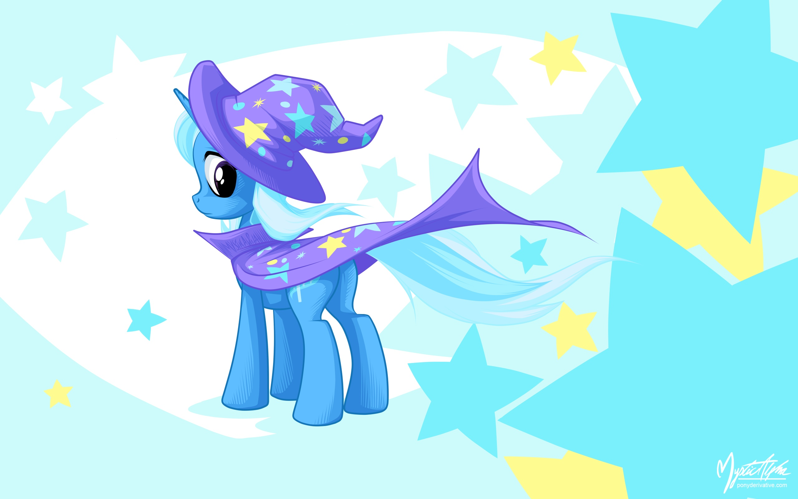 Trixie in the Wind 2
