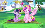 Young Cadance Squeezes one out