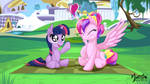 Young Cadance Squeezes one out 16:9 by mysticalpha