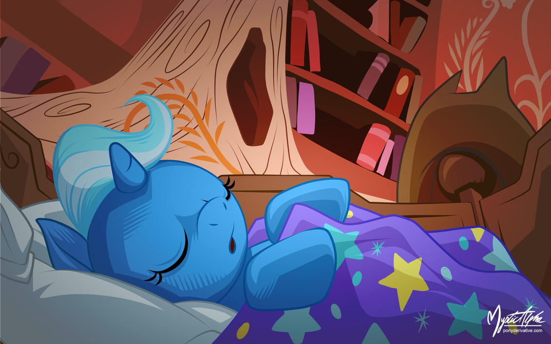 Young Trixie in the Library by mysticalpha