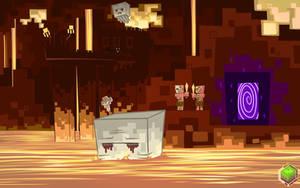 Minecraft Nether by mysticalpha