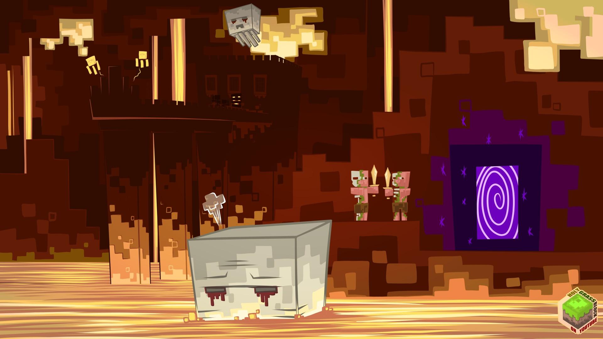 Minecraft Nether 169 By Mysticalpha