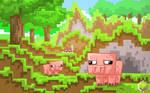 Minecraft Delicious Pigoo
