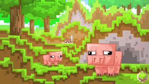 Minecraft Delicious Pigoo 16:9