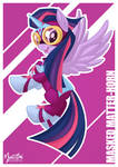 Power Pony - Twilight as Masked Matter-horn