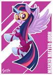 Power Pony - Twilight as Masked Matter-horn