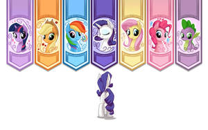 Pony Banners by mysticalpha