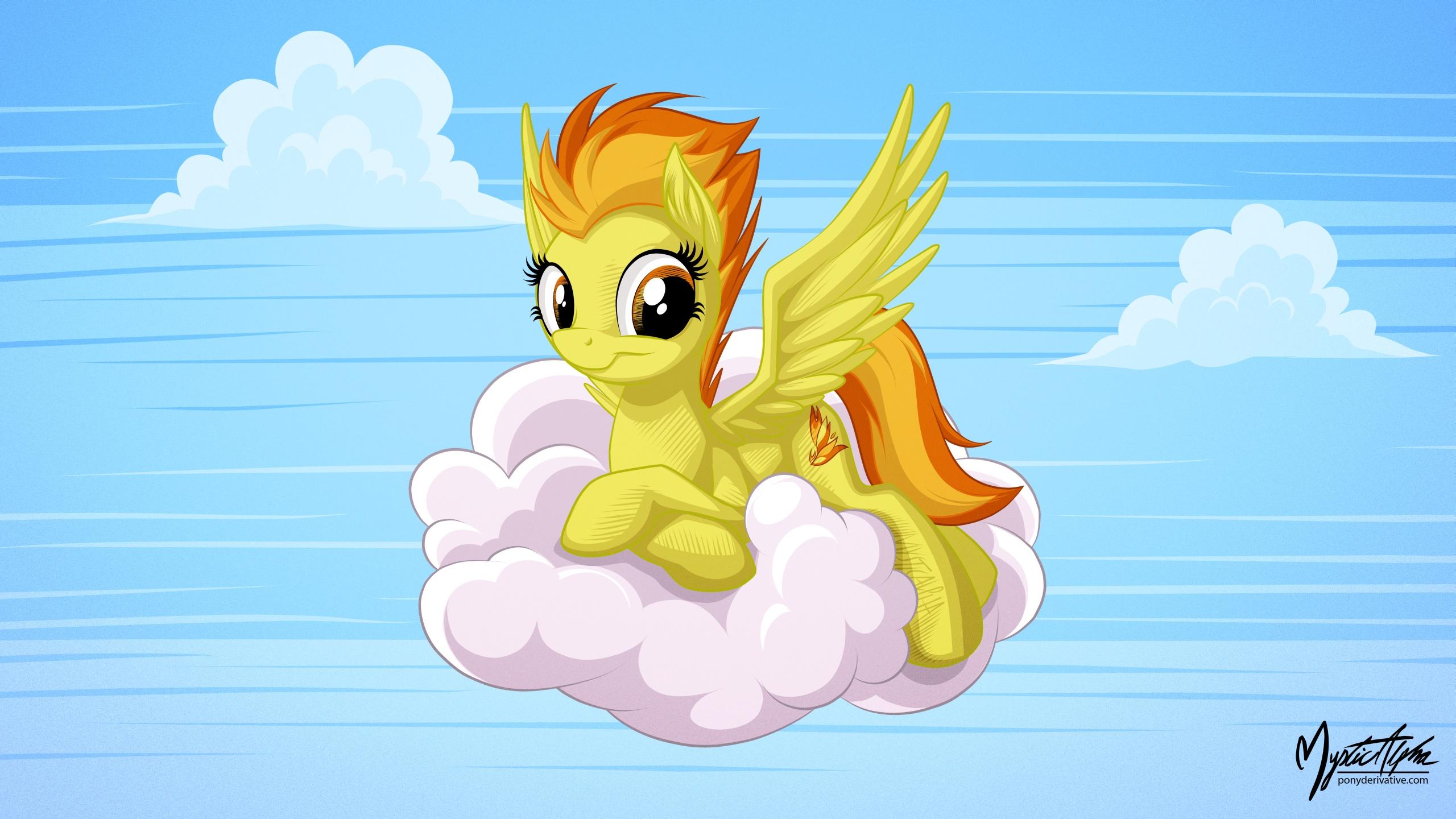 Spitfire on a Cloud 16:9 by mysticalpha