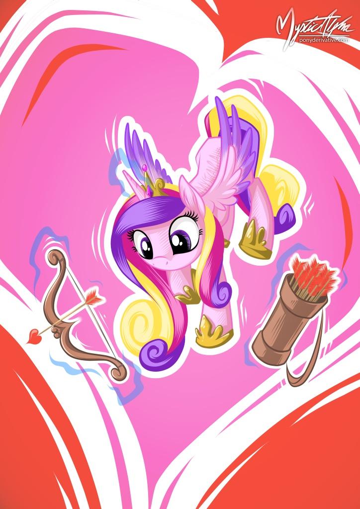Princess Cadance on Duty!