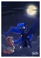 Luna the Nightmare Mistress by mysticalpha
