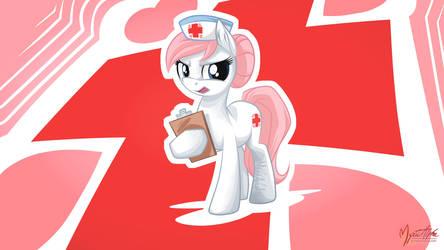 Nurse Redheart 16:9 by mysticalpha