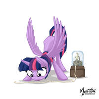 Twilight and the stock ticker by mysticalpha
