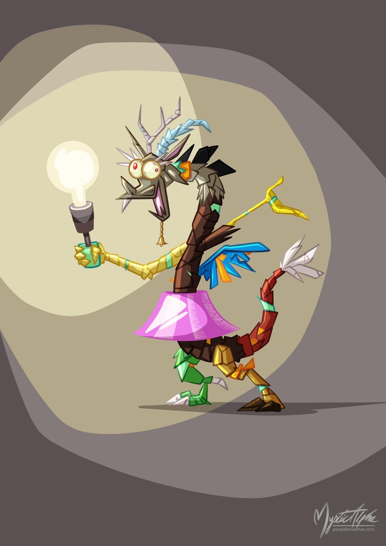 Discord Lamp