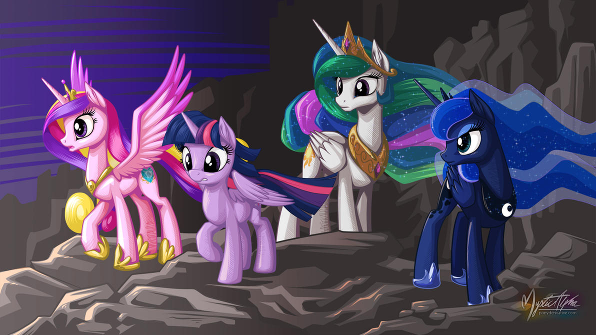 Rally of the Princesses 16:9 by mysticalpha