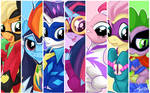 Power Ponies with Spike