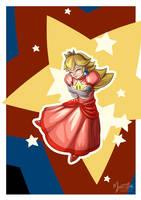 Star Peach by mysticalpha