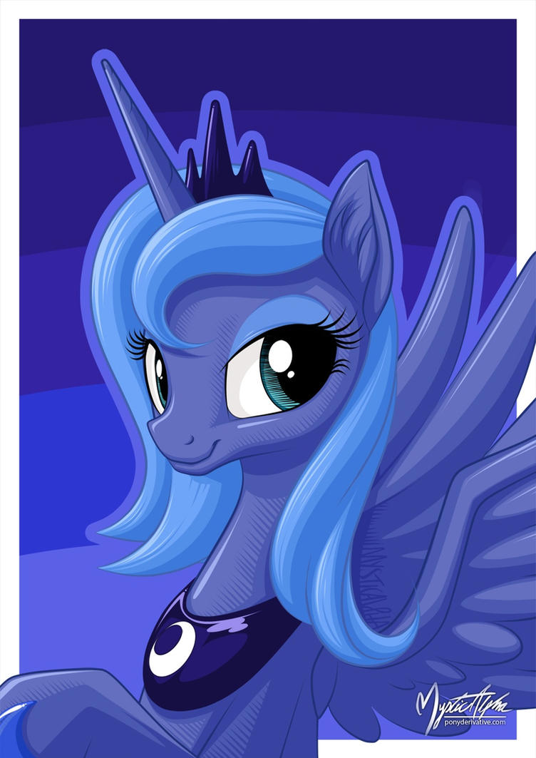 Luna Portrait by mysticalpha