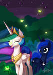 Celestia Luna - Night Time