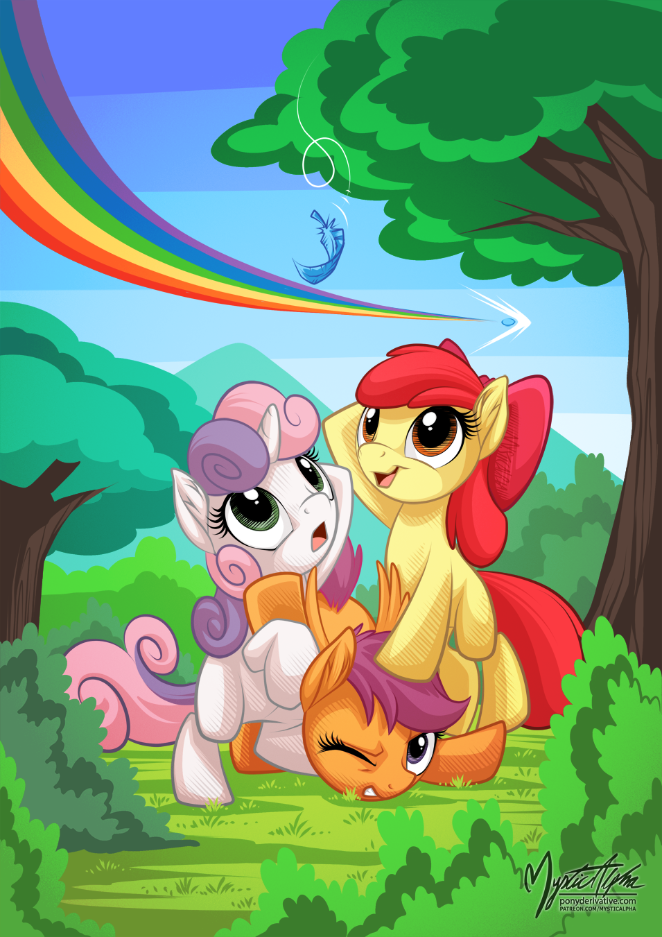 Cutie Mark Crusaders - Feather