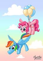 Rainbow Pie by mysticalpha