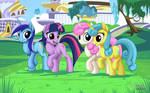 Twilight Sparkle and Friends