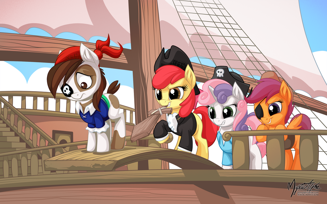 Pip Squeak and the CMC by mysticalpha
