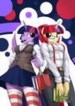 Twilight and Moondancer