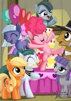 Pie Family 2.0 by mysticalpha