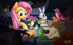 Fluttershy - Not so Scary Story