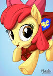 Apple Bloom Caped Crusader