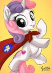 Sweetie Belle Caped Crusader